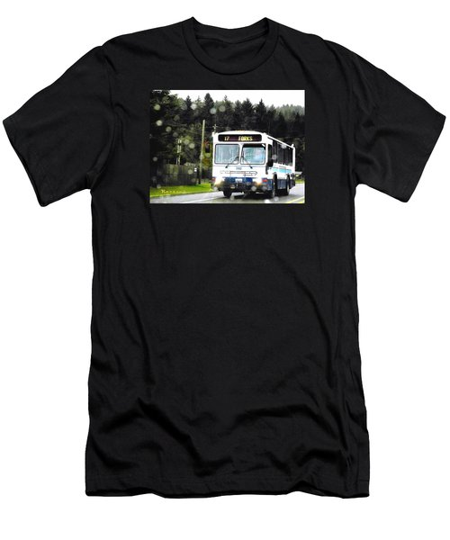 Twilight In Forks Wa 1 Men's T-Shirt (Athletic Fit)