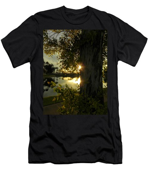Men's T-Shirt (Slim Fit) featuring the photograph Twilight Splendor by Deb Halloran