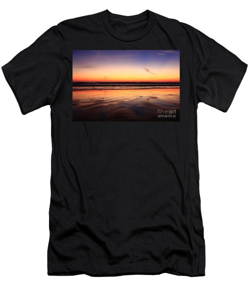 Cardiff By The Sea Glow Men's T-Shirt (Athletic Fit)