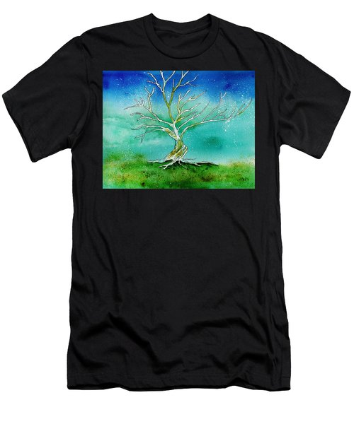 Twilight Tree Men's T-Shirt (Athletic Fit)
