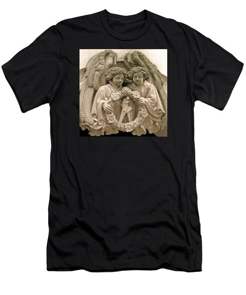 Twin Angels Men's T-Shirt (Athletic Fit)