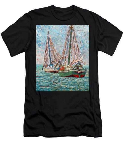 Twin Boats Men's T-Shirt (Athletic Fit)