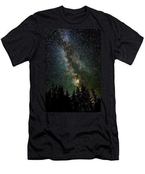 Twinkle Twinkle A Million Stars  Men's T-Shirt (Slim Fit) by Wes and Dotty Weber