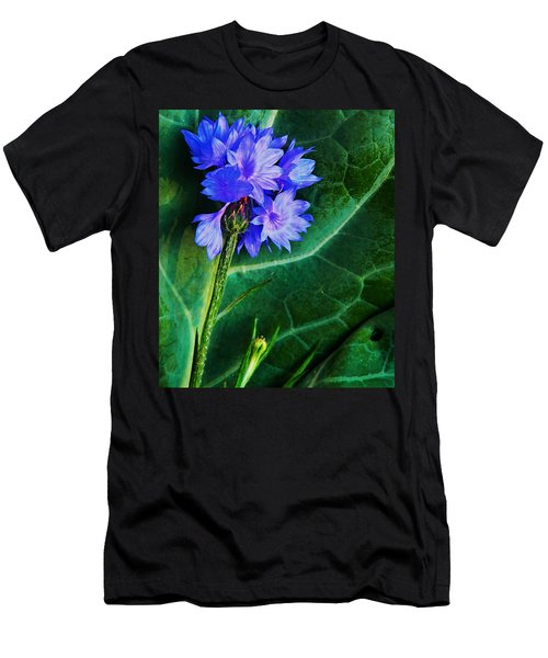 Two Kinds Of Blue Men's T-Shirt (Athletic Fit)