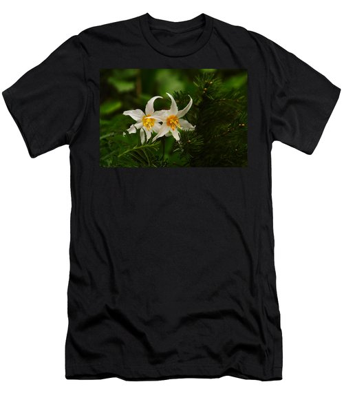 Two Lilies Men's T-Shirt (Athletic Fit)