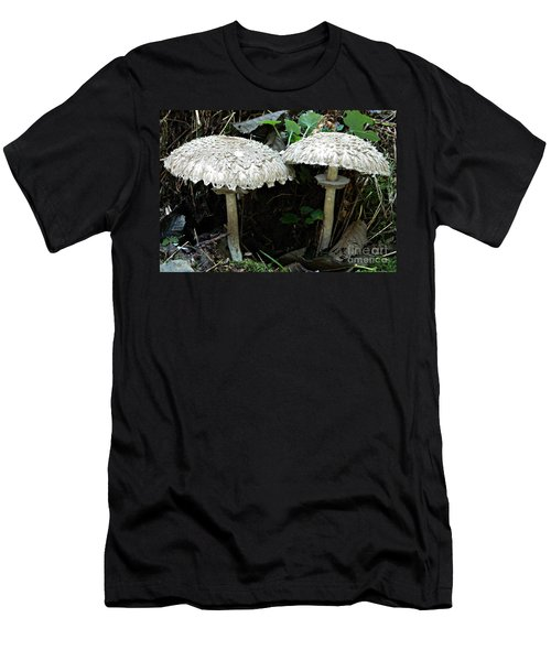 Two Magnificent Toadstools Men's T-Shirt (Slim Fit)