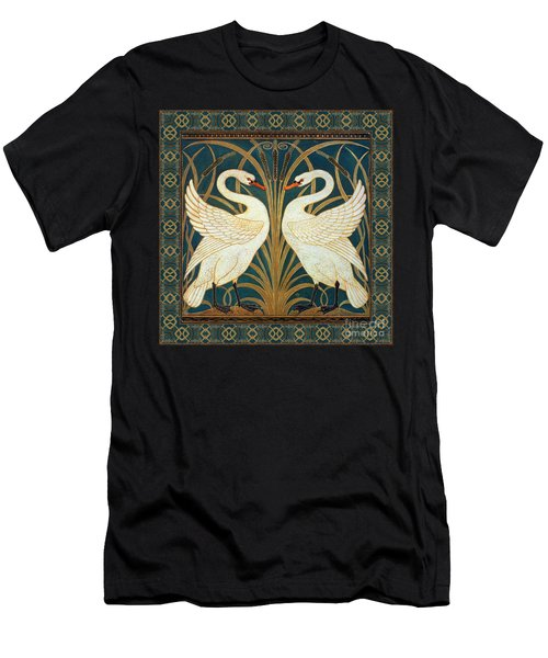 Two Swans Men's T-Shirt (Athletic Fit)