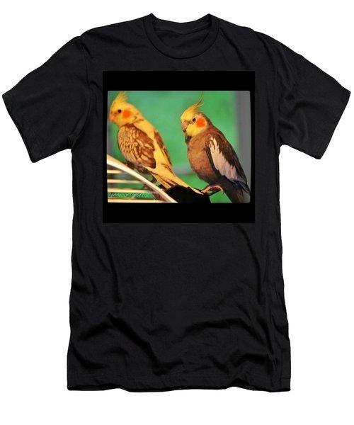 Two Tiels Chillin Men's T-Shirt (Athletic Fit)