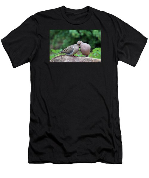 Two Turtle Doves Men's T-Shirt (Athletic Fit)