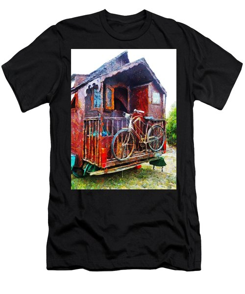 Two Wheels On My Wagon Men's T-Shirt (Athletic Fit)