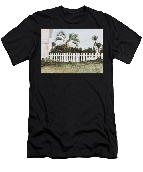 Tybee Island Roses Men's T-Shirt (Athletic Fit)