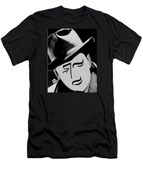 Typortraiture Humphrey Bogart Men's T-Shirt (Athletic Fit)