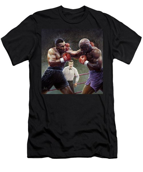 Tyson/holyfield Men's T-Shirt (Athletic Fit)