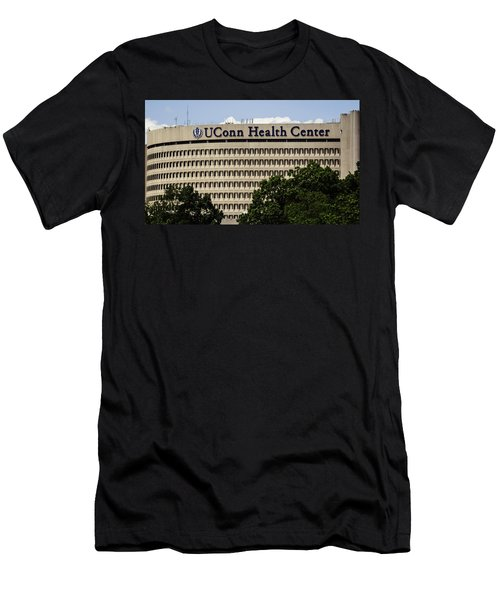 University Of Connecticut Uconn Health Center Men's T-Shirt (Slim Fit) by Phil Cardamone