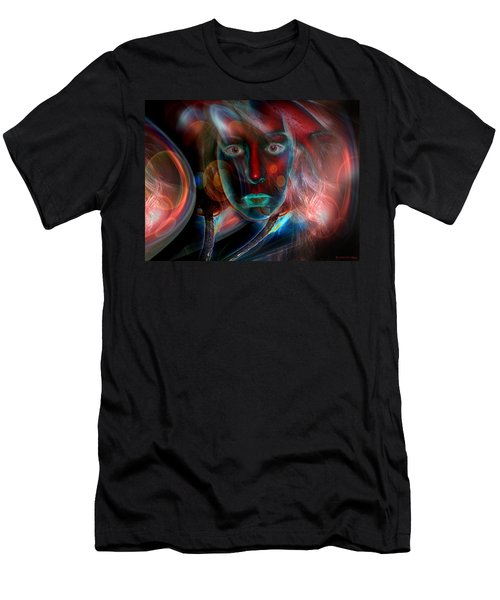 Umbilical Connection To A Dream  Men's T-Shirt (Slim Fit) by Otto Rapp