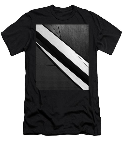 Umbrella Abstract Men's T-Shirt (Slim Fit) by Connie Fox