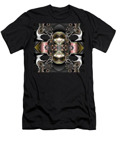 Uncertain Committments Men's T-Shirt (Slim Fit) by Claude McCoy