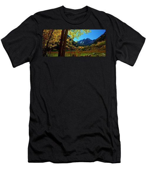 Under Golden Trees Men's T-Shirt (Athletic Fit)