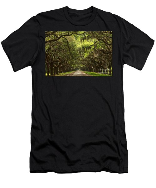 Under The Ancient Oaks Men's T-Shirt (Athletic Fit)