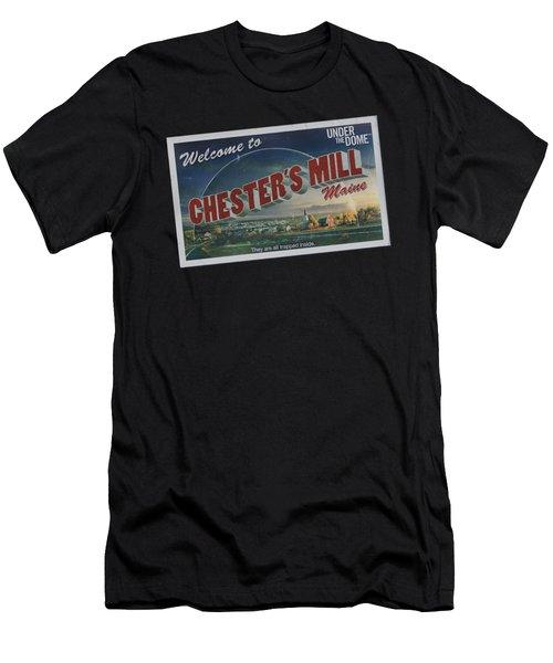 Under The Dome - Postcard Men's T-Shirt (Athletic Fit)