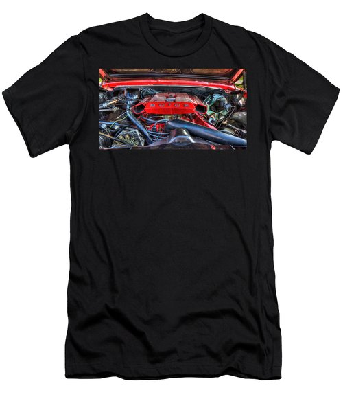 Under The Hood Men's T-Shirt (Slim Fit) by Amanda Stadther