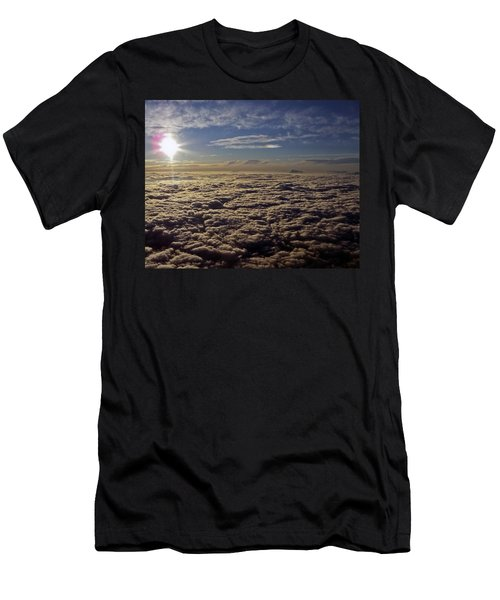 Men's T-Shirt (Slim Fit) featuring the photograph Undercast And Sun by Greg Reed