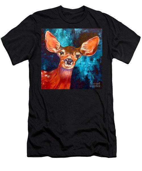 Uniquely Fawn Men's T-Shirt (Athletic Fit)