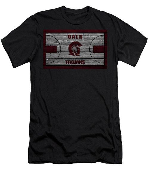 University Of Arkansas At Little Rock Trojans Men's T-Shirt (Athletic Fit)
