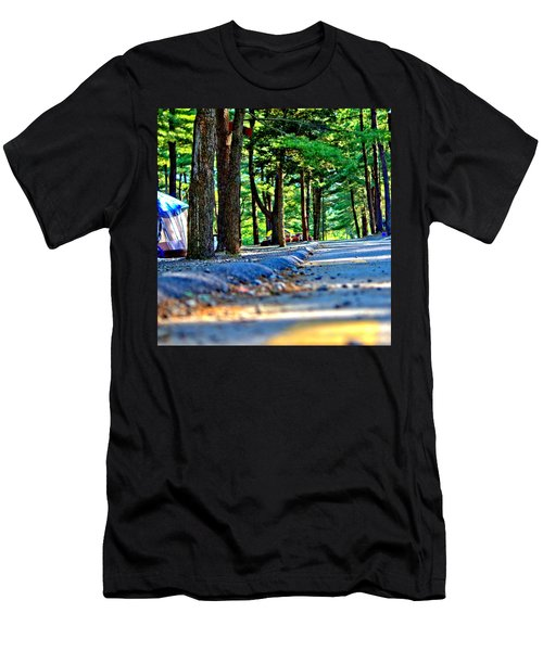 Men's T-Shirt (Athletic Fit) featuring the photograph Unknown Destination by Tyson Kinnison