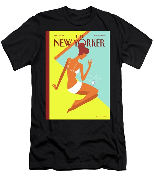 New Yorker August 9th, 2010 Men's T-Shirt (Athletic Fit)
