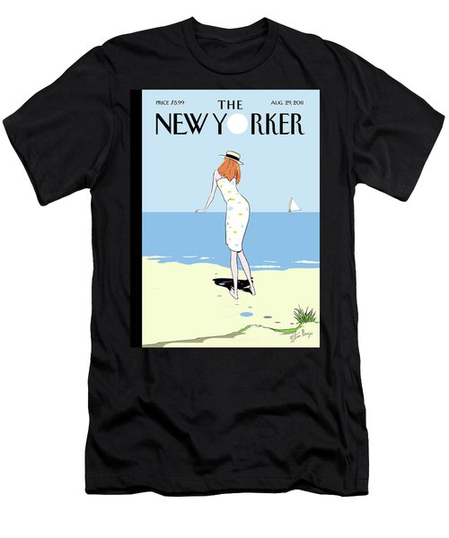 New Yorker August 29th, 2011 Men's T-Shirt (Athletic Fit)