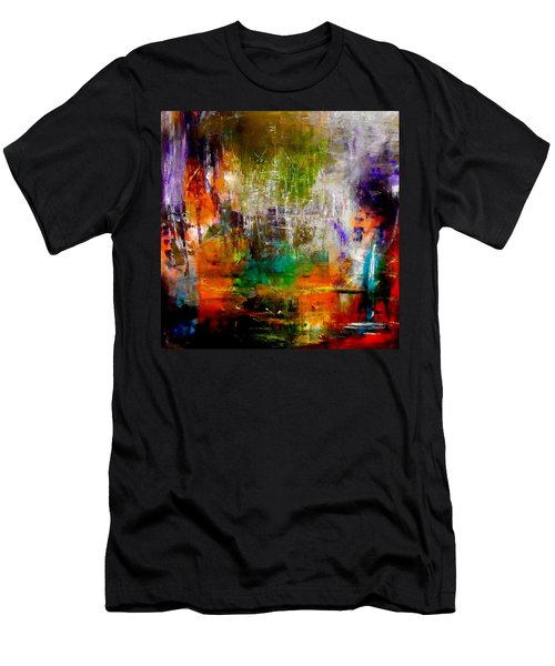Reflecting Back Men's T-Shirt (Athletic Fit)
