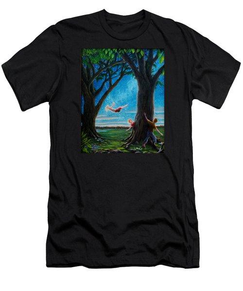 Innocence  Men's T-Shirt (Slim Fit) by Matt Konar