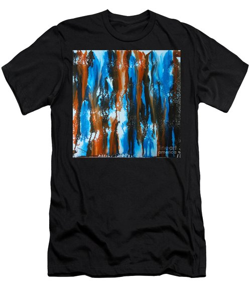 Winter Vs. Summer Men's T-Shirt (Athletic Fit)