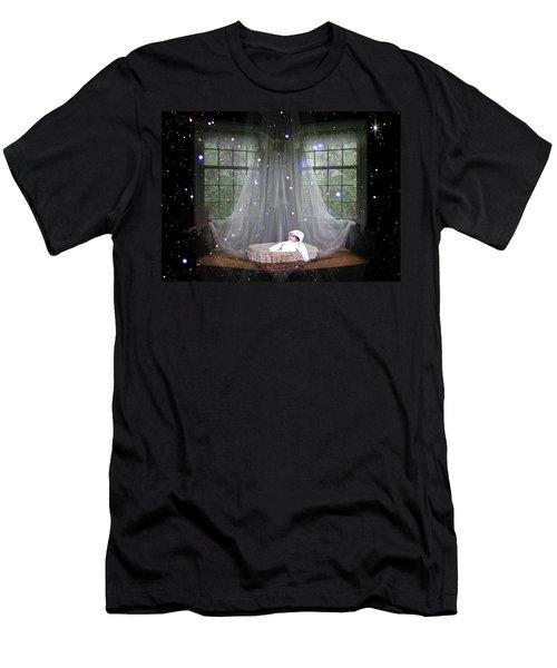 Unto Us A Child Is Born Men's T-Shirt (Athletic Fit)