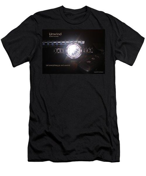 Unwind - Let Go Men's T-Shirt (Athletic Fit)