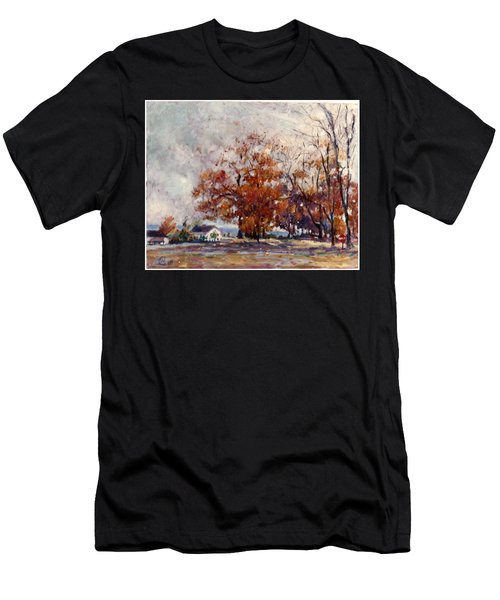 Up State Ny - Nyack Men's T-Shirt (Athletic Fit)