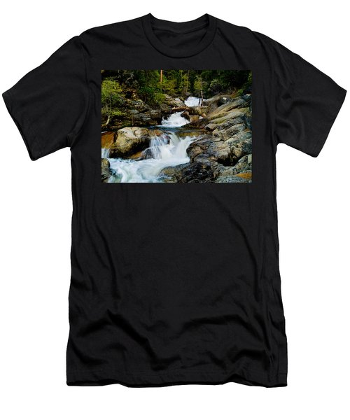 Up The Creek Men's T-Shirt (Slim Fit) by Bill Gallagher