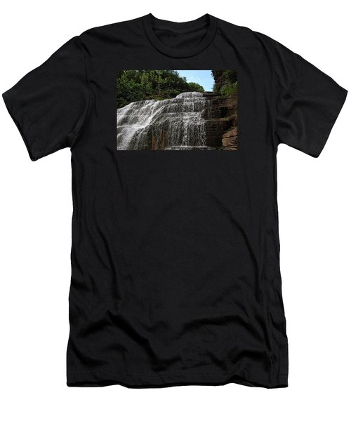 Up The Falls Men's T-Shirt (Athletic Fit)