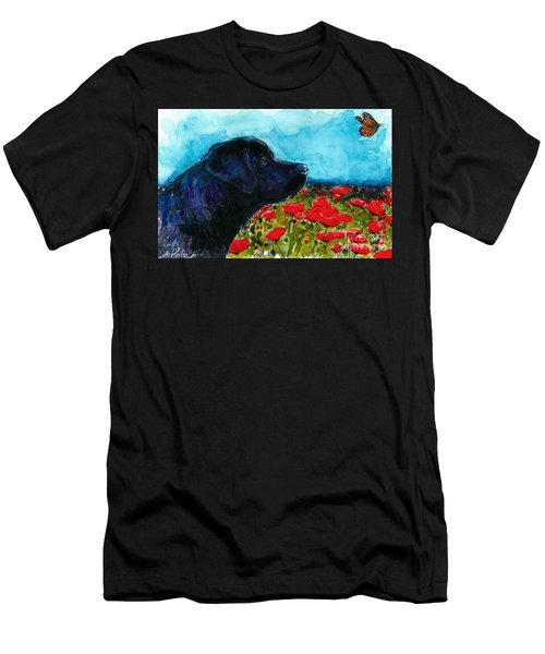 Updraft Men's T-Shirt (Slim Fit) by Molly Poole