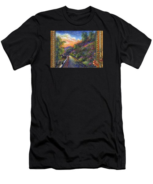 Uphill Men's T-Shirt (Slim Fit) by Retta Stephenson