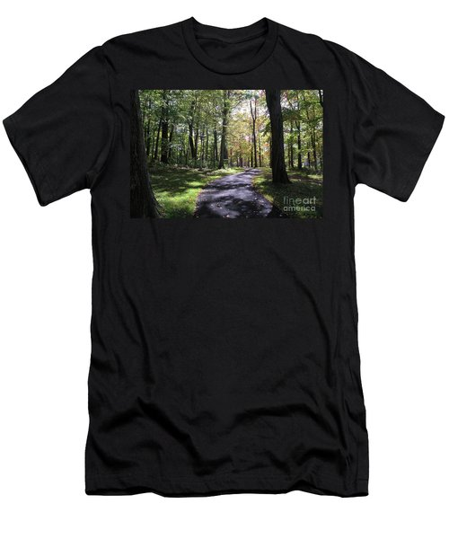 Upj Campus Path Men's T-Shirt (Athletic Fit)