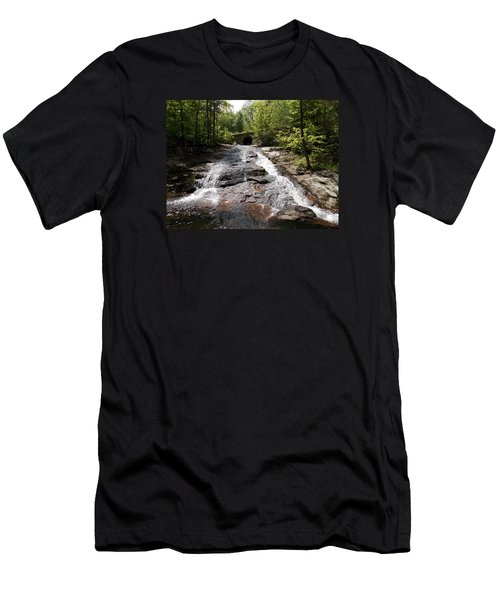 Upper Chapel Brook Falls Men's T-Shirt (Athletic Fit)