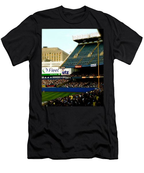 Upper Deck  The Yankee Stadium Men's T-Shirt (Slim Fit) by Iconic Images Art Gallery David Pucciarelli
