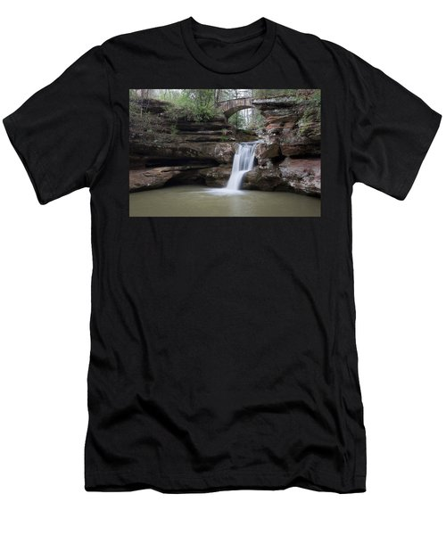 Upper Falls At Old Mans Cave II Men's T-Shirt (Athletic Fit)