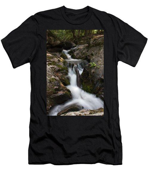 Upper Pup Creek Falls Men's T-Shirt (Athletic Fit)