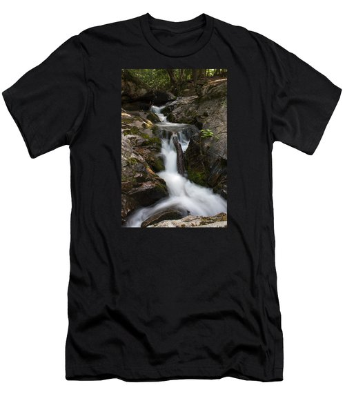 Upper Pup Creek Falls Men's T-Shirt (Athletic Fit)