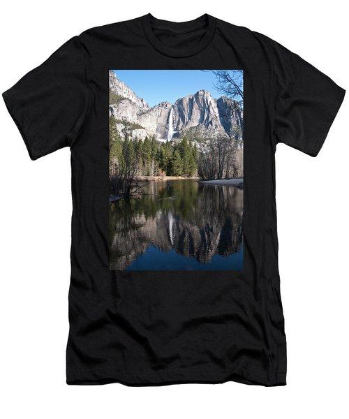 Upper Yosemite Fall Men's T-Shirt (Athletic Fit)