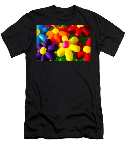 Urban Flowers - Featured 3 Men's T-Shirt (Athletic Fit)