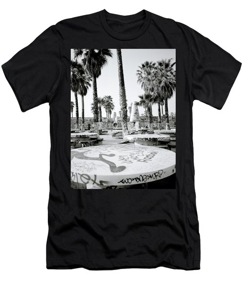 Urban Graffiti  Men's T-Shirt (Athletic Fit)